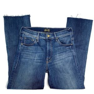 MOTHER Jeans - MOTHER Insider Crop Step Fray Jeans
